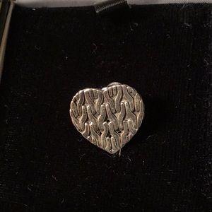 John Hardy lapel pin, stamped 925
